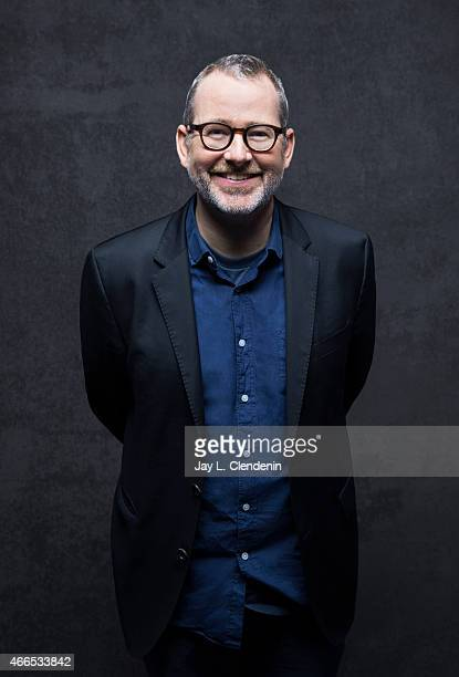 Morgan Neville is photographed for Los Angeles Times at the 2015 Sundance Film Festival on January 24 2015 in Park City Utah PUBLISHED IMAGE CREDIT...