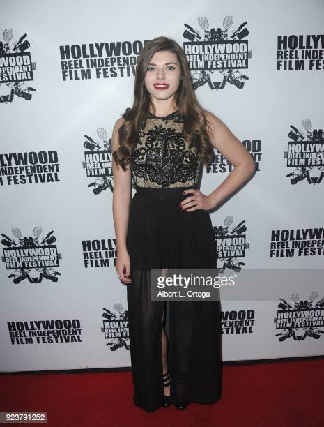 Morgan Obenreder attends the 17th Annual Hollywood Reel Independent Film Festival Award Ceremony Red Carpet Event held at Regal Cinemas LA LIVE...