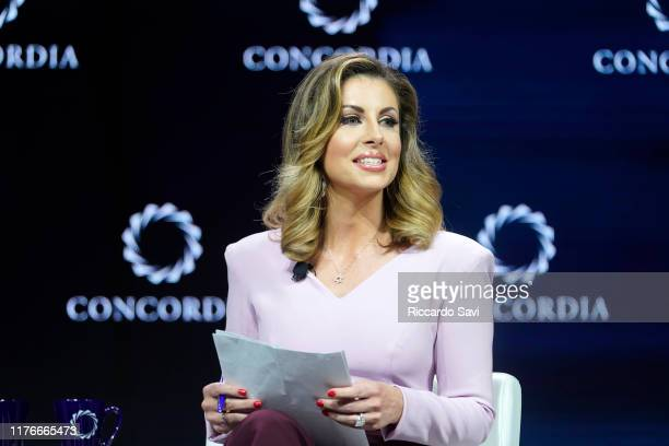 Morgan Ortagus US Department Of State Spokesperson speaks onstage during the 2019 Concordia Annual Summit Day 1 at Grand Hyatt New York on September...
