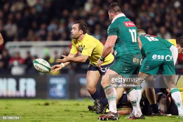 Morgan Parra of Clermont during the Top 14 match between Pau and Clermont on December 23 2017 in Pau France