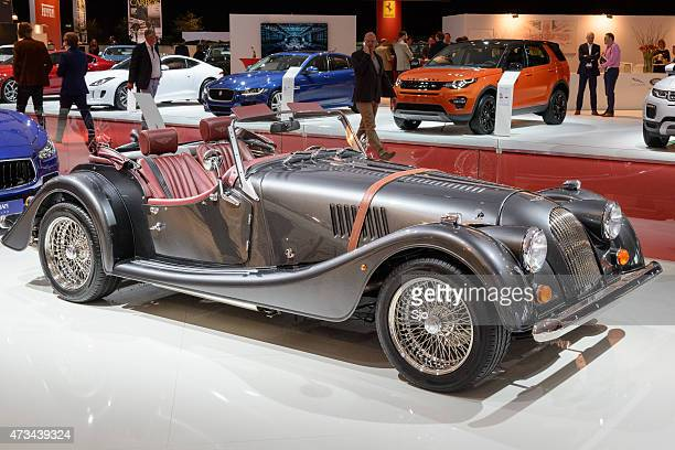 Morgan Plus 8 new classic sports car front view