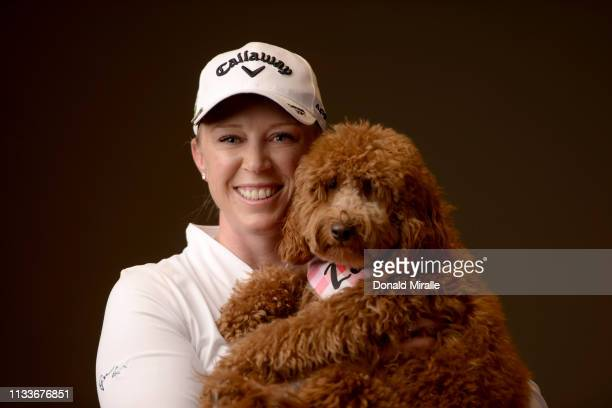 Morgan Pressel poses for a portrait at the Park Hyatt Aviara Resort on March 26 2019 in Carlsbad California