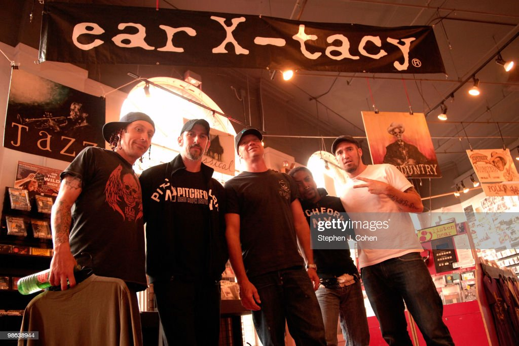 Sevendust Signing In-Store at Ear X-Tacy