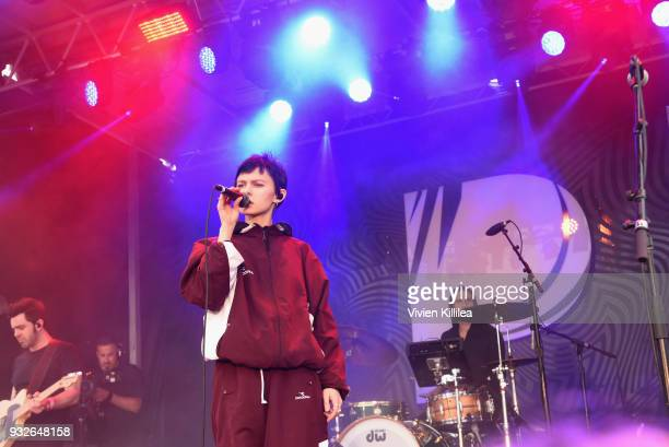 Morgan Saint performs onstage during Pandora SXSW 2018 on March 15 2018 in Austin Texas