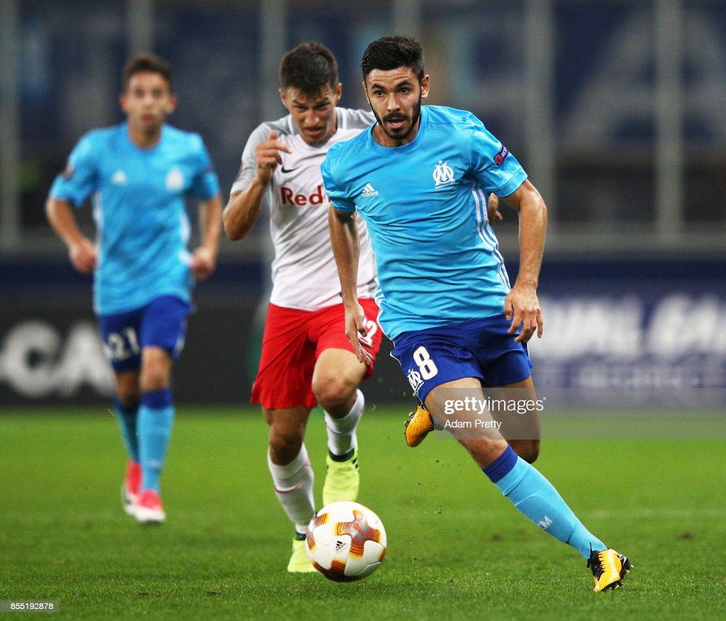 FC Salzburg v Olympique Marseille - UEFA Europa League : News Photo