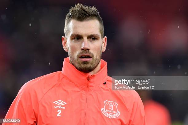Morgan Schneiderlin before the Premier League match between Middlesbrough and Everton at the Riverside Stadium on February 11 2017 in Middlesbrough...