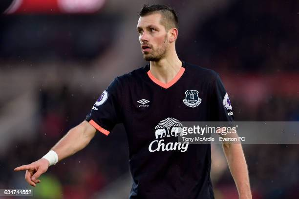 Morgan Schneiderlin of Everton reacts during the Premier League match between Middlesbrough and Everton at the Riverside Stadium on February 11 2017...