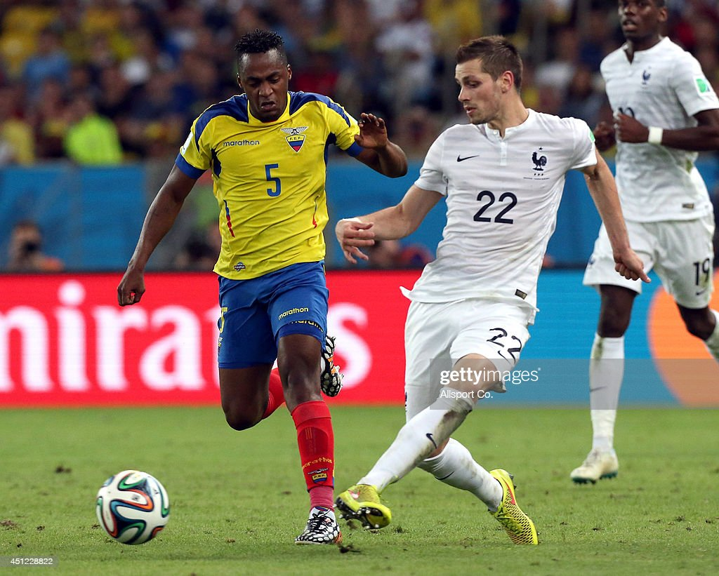 Ecuador v France: Group E - 2014 FIFA World Cup Brazil : News Photo