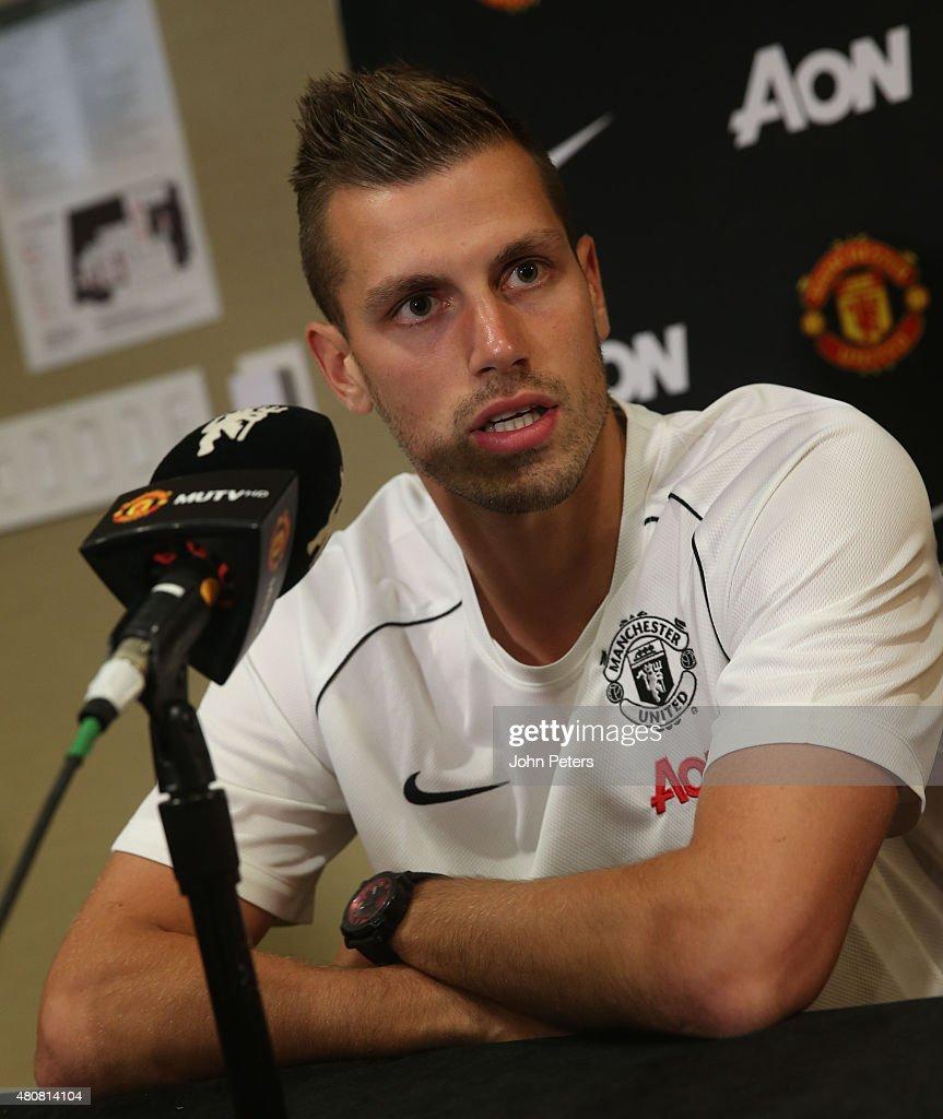 Manchester United Press Conference to Welcome Bastian Schweinsteiger and Morgan Schneiderlin
