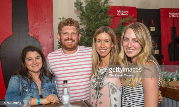 Morgan Selzer Ryan Handel Lindsay Nahmiache and Jenny Bloom attend the Women Filmmakers Event during 2017 Los Angeles Film Festival at Festival...