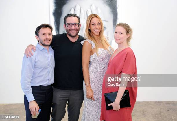 Morgan Shara attends the Tigran Tsitoghdzyan 'Uncanny' show at Allouche Gallery on June 14 2018 in New York City