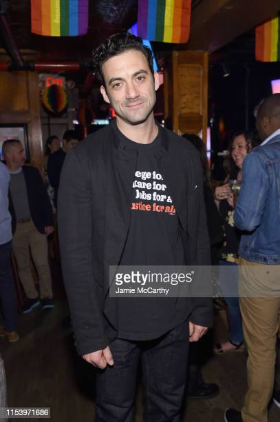 Morgan Spector attends as Entertainment Weekly Celebrates Its Annual LGBTQ Issue at the Stonewall Inn on June 05 2019 in New York City