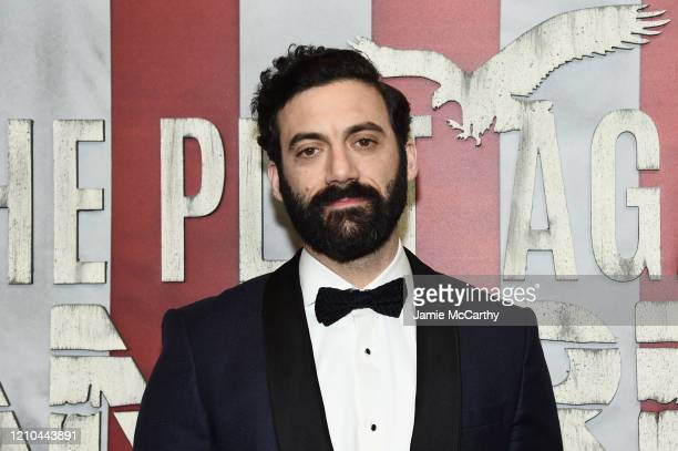 Morgan Spector attends HBO's The Plot Against America premiere at Florence Gould Hall on March 04 2020 in New York City