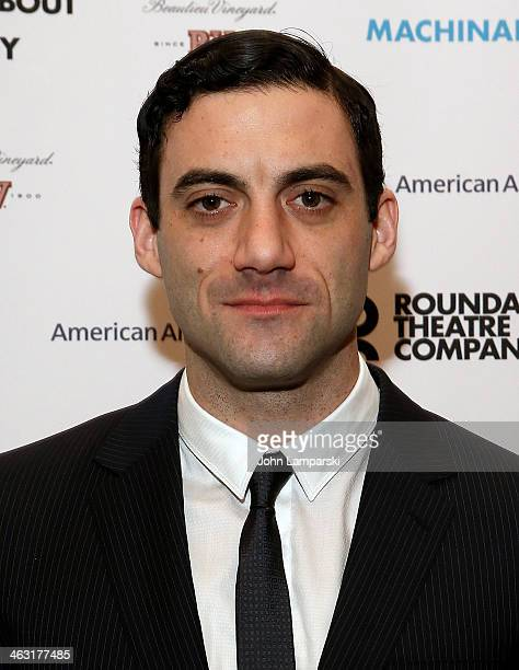 Morgan Spector attends the Broadway opening night of Machinal at American Airlines Theatre on January 16 2014 in New York New York