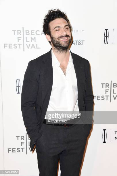 Morgan Spector attends the 'Chuck' Premiere 2017 Tribeca Film Festival on April 28 2017 in New York City