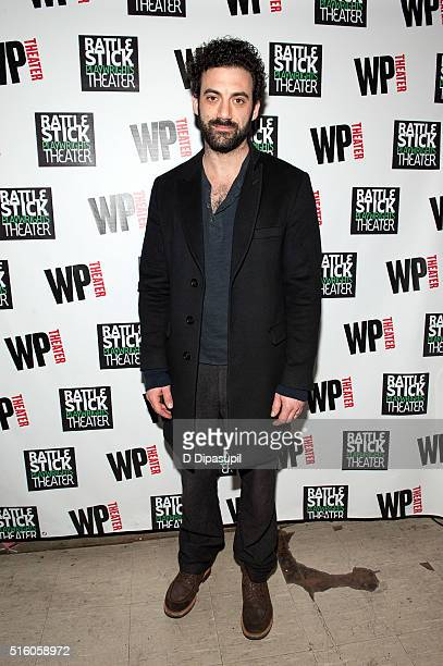Morgan Spector attends the Ironbound Opening Night at Rattlestick Playwrights Theater on March 16 2016 in New York City