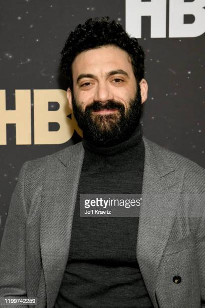 Morgan Spector of 'The Plot Against America' poses in the green room during the 2020 Winter Television Critics Association Press Tour at The Langham...