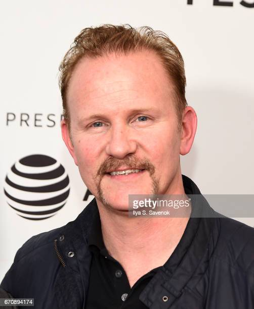 Morgan Spurlock attends the screening of 'No Man's Land' during 2017 Tribeca Film Festival at Cinepolis Chelsea on April 20 2017 in New York City