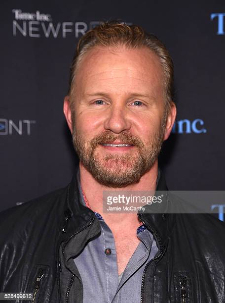 Morgan Spurlock attends the Time Inc NEWFRONT at Gotham Hall on May 5 2016 in New York City
