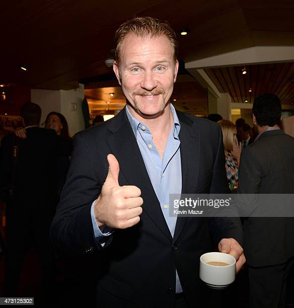Morgan Spurlock attends the Turner Upfront 2015 at Madison Square Garden on May 13 2015 in New York City 25201_002_KM_0151JPG