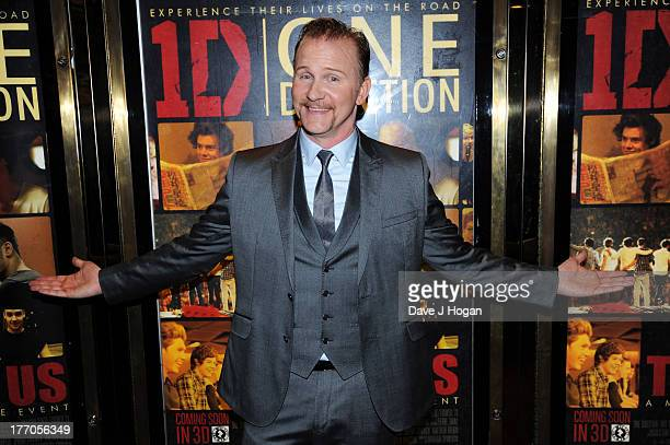 Morgan Spurlock attends the world premiere of 'One Direction This Is Us' at The Empire Leicester Square on August 20 2013 in London England
