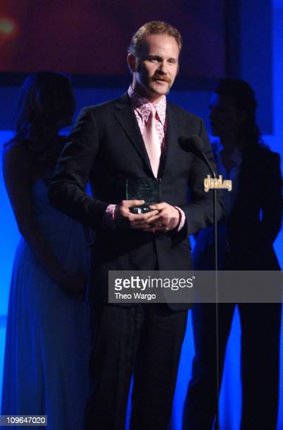 Morgan Spurlock during 17th Annual GLAAD Media Awards Presented By Absolut Vodka Show at Marriott Marquis in New York City New York United States