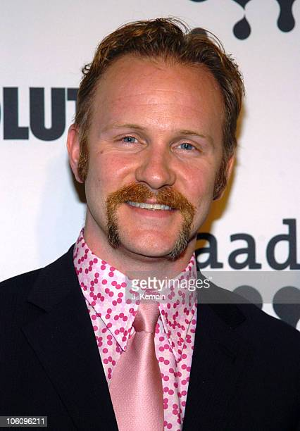 Morgan Spurlock during The 17th Annual GLAAD Media Awards Red Carpet at The Marriott Marquis in New York City New York United States