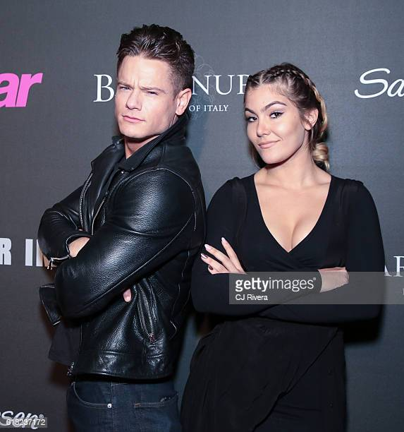 Morgan St Pierre and Tori Deal attend the Star's Scene Stealers event at Kola House on October 25 2016 in New York City