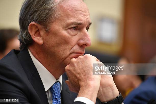 Morgan Stanley Chairman Chief Executive Officer James Gorman testifies before the House Financial Services Committee on accountability for mega banks...