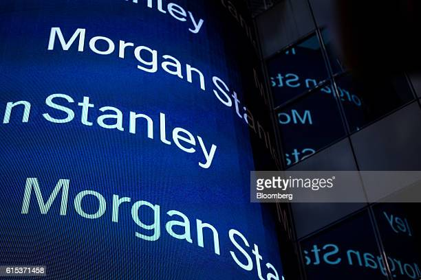 51 Morgan Stanley Ahead Of Earnings Figures Pictures, Photos