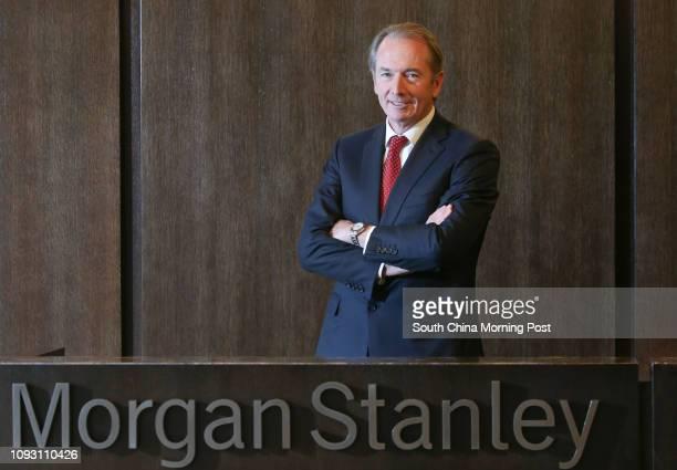 Morgan Stanley global CEO James Gorman at West Kowloon Hong Kong 13NOV17 SCMP / David Wong