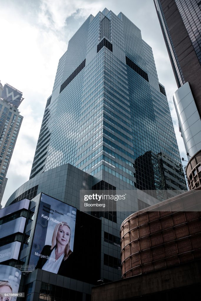 Morgan Stanley headquarters stands in New York, U S , on