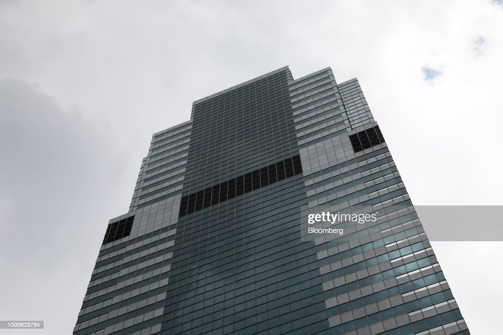Morgan Stanley Headquarters Ahead Of Earnings Figures