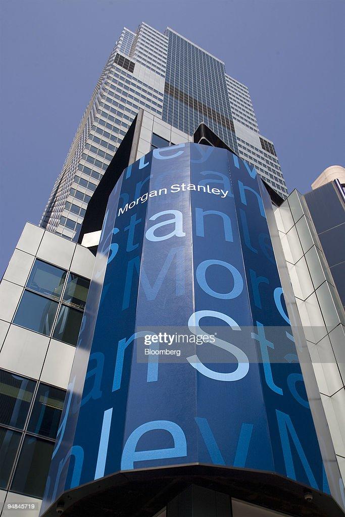 Morgan Stanley Headquarters Stands In New York U S On