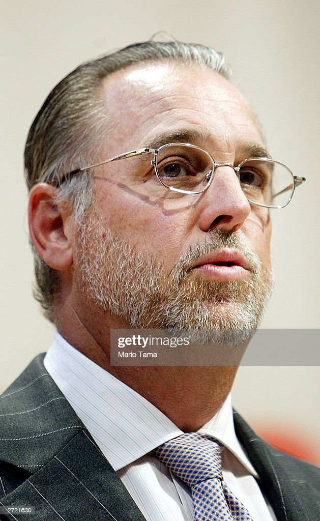 Morgan Stanley President and COO Robert Scott speaks during the