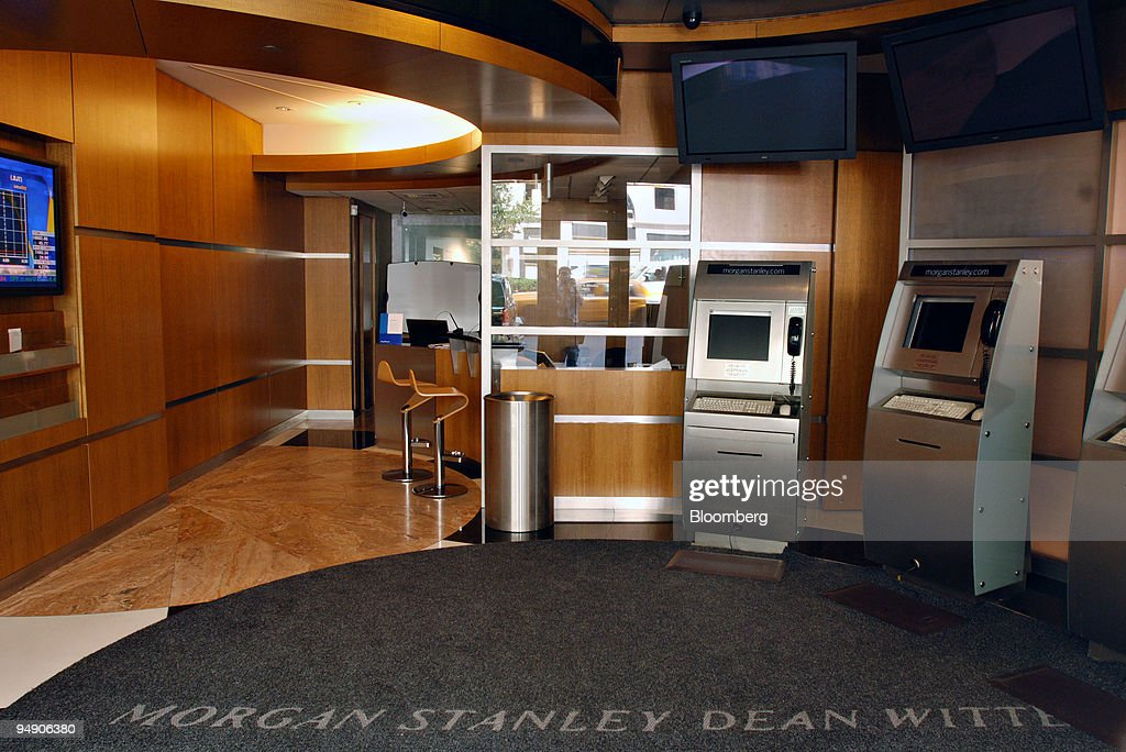 A Morgan Stanley retail brokerage office is pictured in New