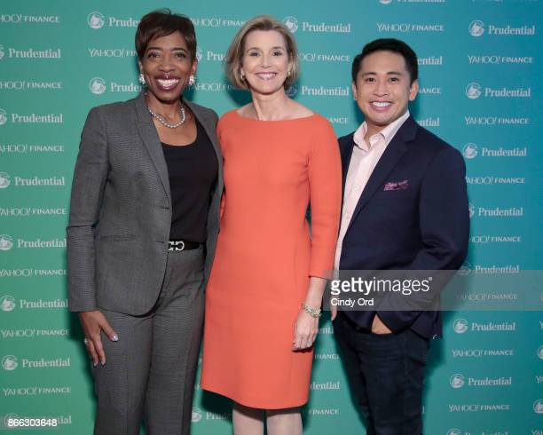 Morgan Stanley Vice Chairman Managing Director Senior Client Advisor Carla Harris Ellevest CEO and CoFounder Sallie Krawcheck and JP Mangalindan...