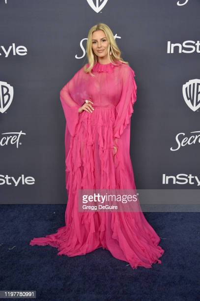 Morgan Stewart attends the 21st Annual Warner Bros And InStyle Golden Globe After Party at The Beverly Hilton Hotel on January 05 2020 in Beverly...