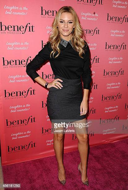 Morgan Stewart attends the Benefit Cosmetics event at Space 15 Twenty on September 26 2014 in Los Angeles California