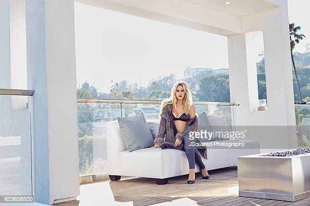 Morgan Stewart is photographed for Locale Magazine on August 7 2016 in Los Angeles California