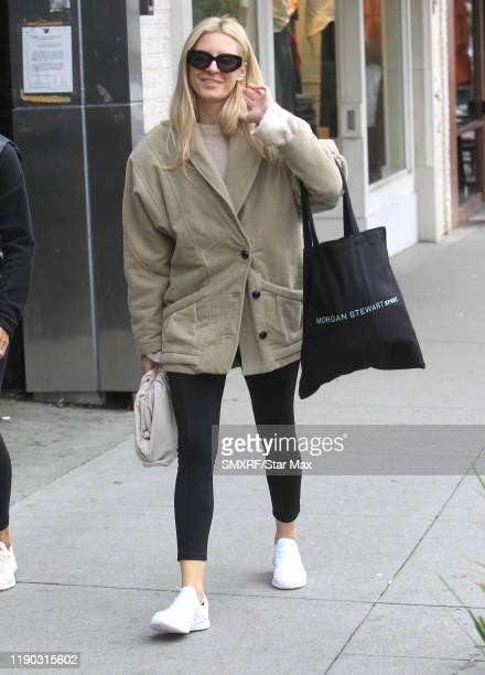 Morgan Stewart is seen on December 23 2019 in Los Angeles California