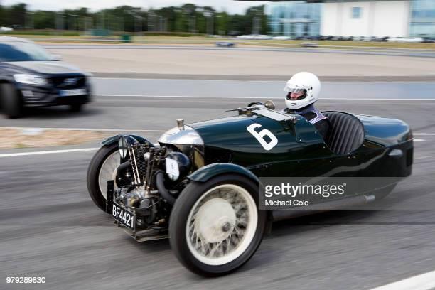 Morgan Super Aero at Brooklands Racing Circuit on June 16 2018 in Weybridge England