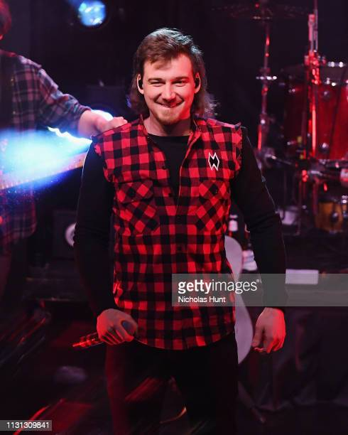 Morgan Wallen performs at Irving Plaza on February 21 2019 in New York City