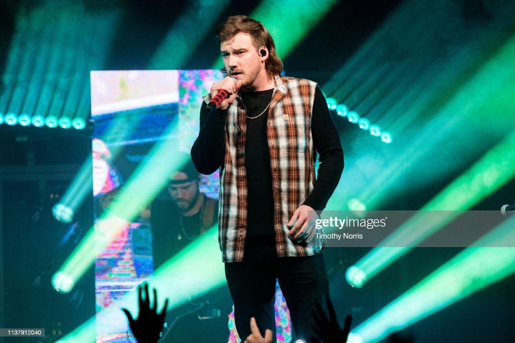 CA: Morgan Wallen With Hardy In Concert - Los Angeles, California