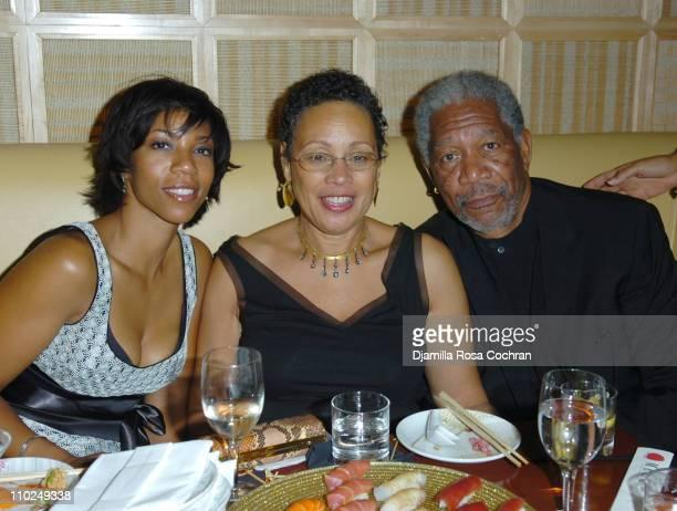 Morgana Freeman, Myrna Colley Lee and Morgan Freeman