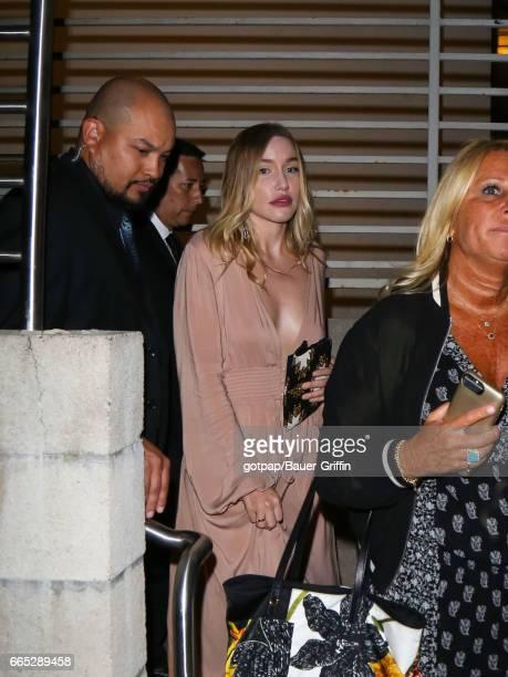 Morgana McNelis is seen on April 05, 2017 in Los Angeles, California.