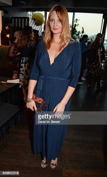 Morgana Robinson attends the BAFTA TV Awards Nominees' Party at Mondrian London on April 19 2018 in London England
