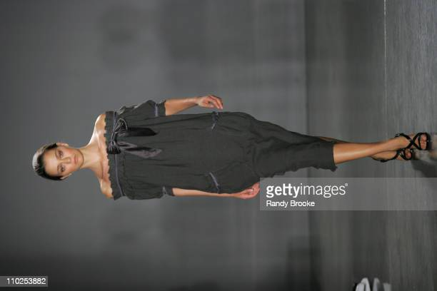 Morgane Dubled wearing Proenza Schouler Spring 2006