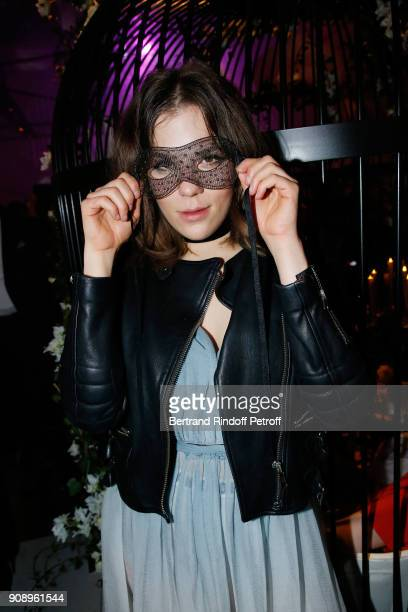 Morgane Polanski attends Le Bal Surrealiste Dior during Haute Couture Spring Summer 2018 show as part of Paris Fashion Week on January 22 2018 in...