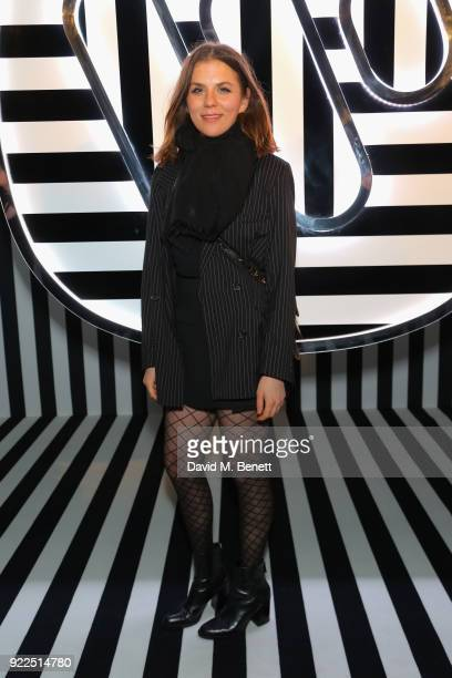 Morgane Polanski attends the Brits Awards 2018 After Party hosted by Warner Music Group Ciroc and British GQ at Freemasons Hall on February 21 2018...